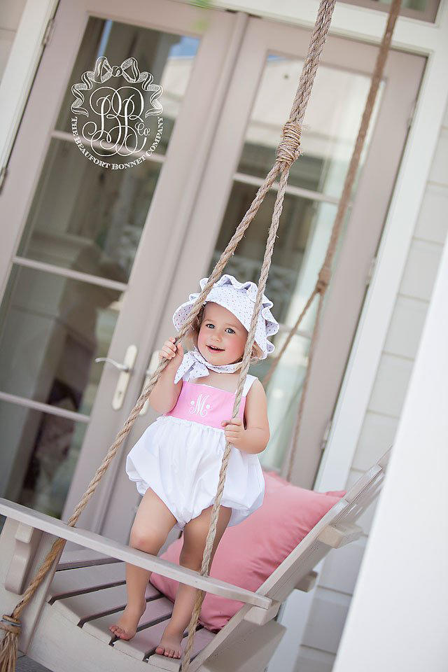A Classic Bonnet is a Must-Have in Every Southern Tot's Wardrobe