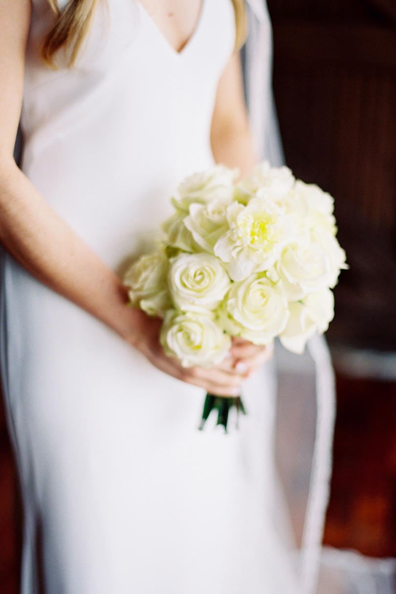 Lovely, All-White Bouquet