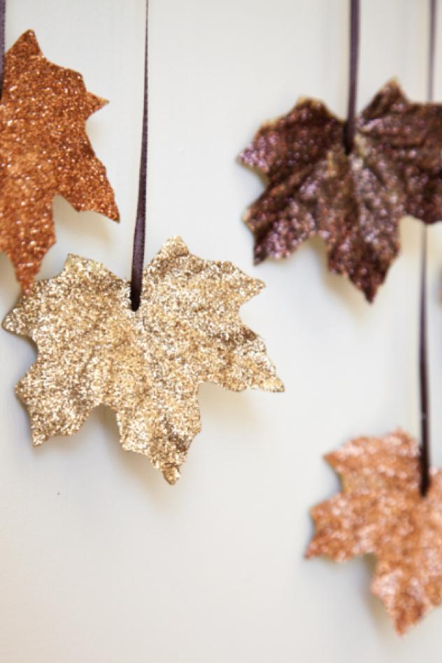 DIY Falling Leaves