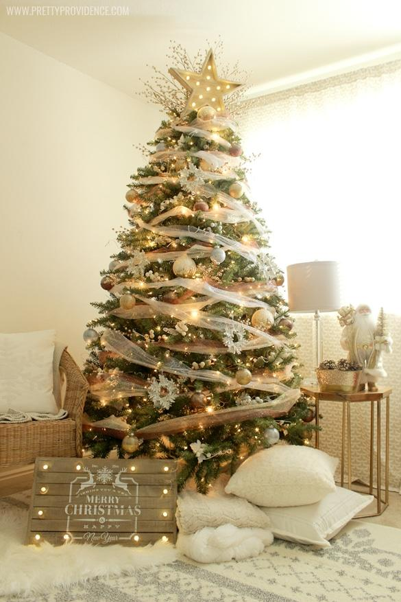 christmas tree ideas burlap beauty tulle dream