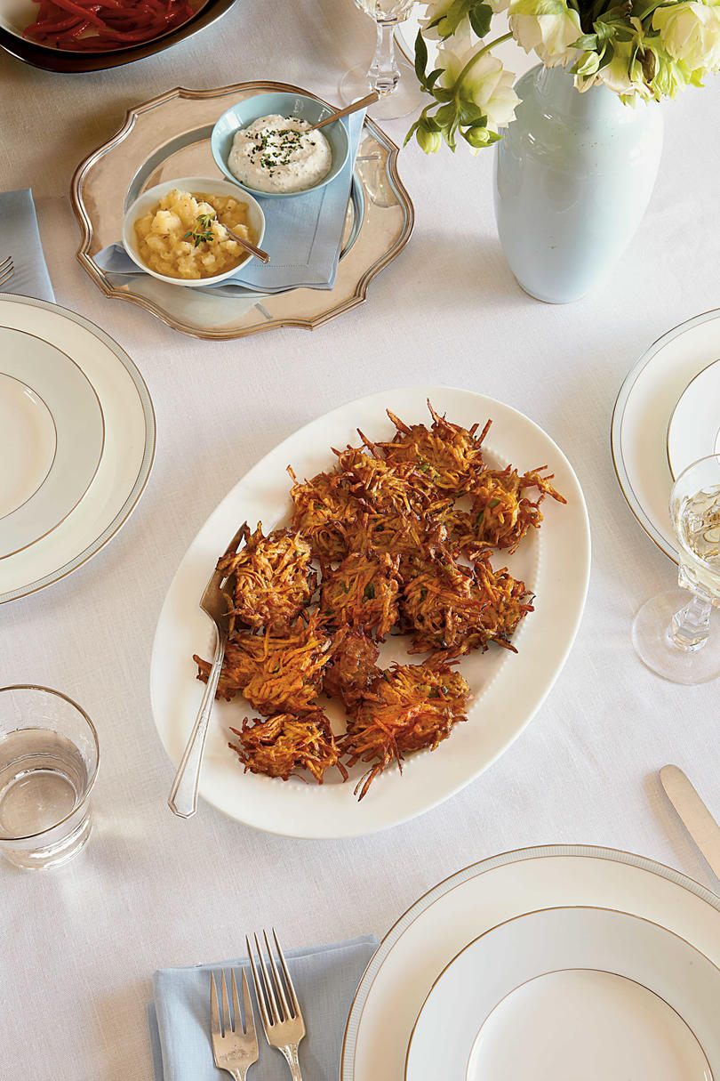 Sweet Potato Latkes