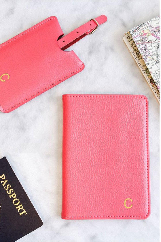 For the Frequent Traveler: Monogram Passport Case & Luggage Tag