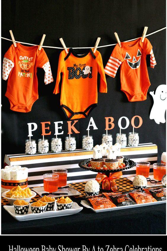 Awesome Halloween Baby Shower