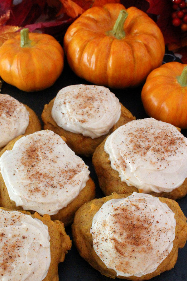 RX_1705 Pumpkin Cookies_Pumpkin Spice Cookies with Cinnamon Cream Cheese Frosting