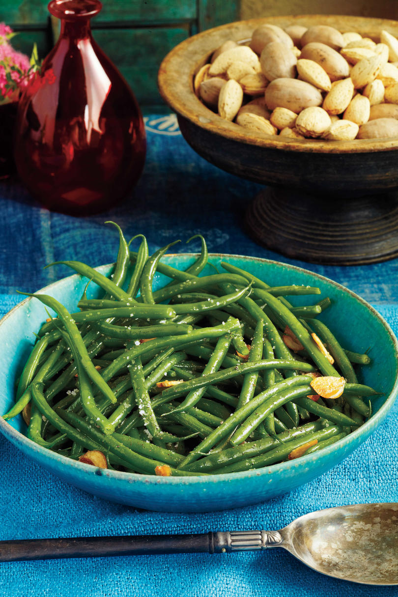 Classic: Green Beans with Garlic