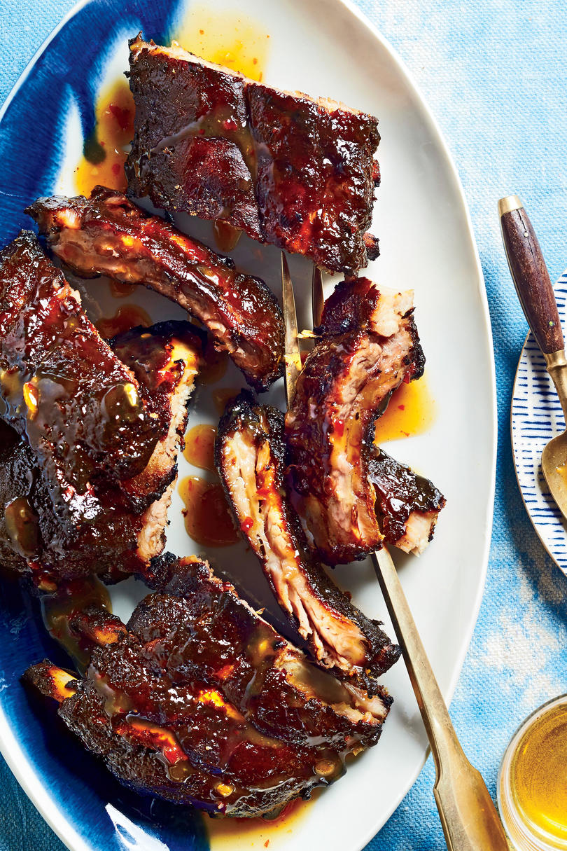 Sweet Chili-and-Mustard Baby Back Ribs