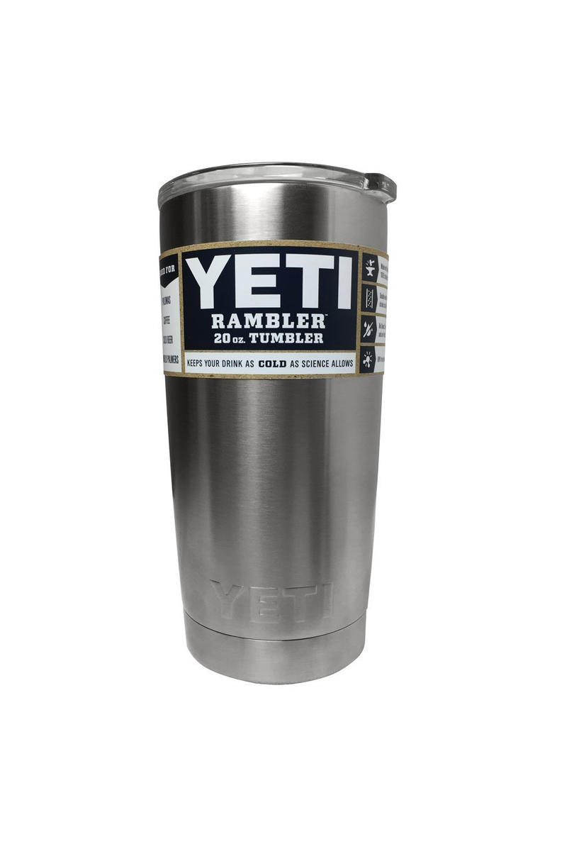 YETI Rambler 20 oz. Stainless Steel Vacuum Insulated Tumbler with Lid