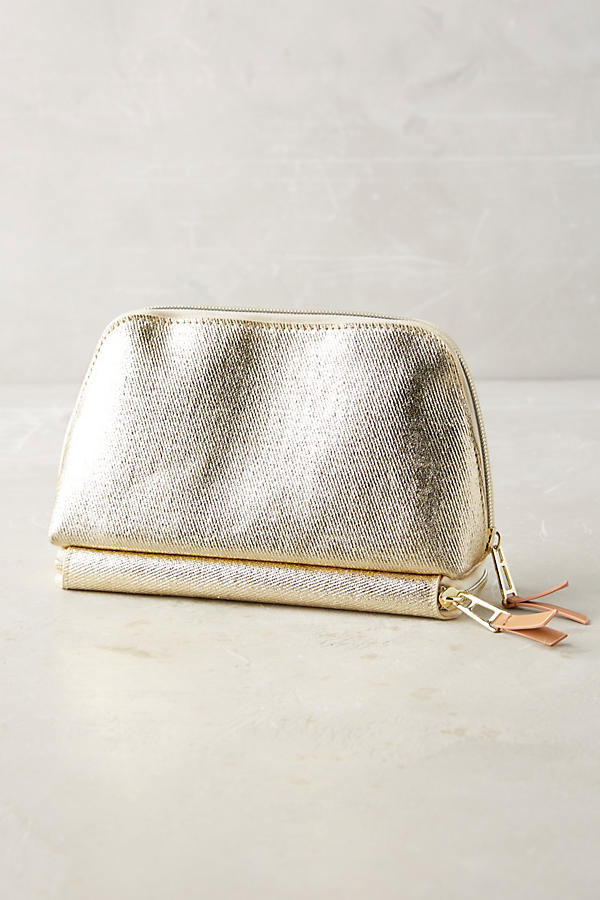 Artist Atelier Bottom-Zip Makeup Bag