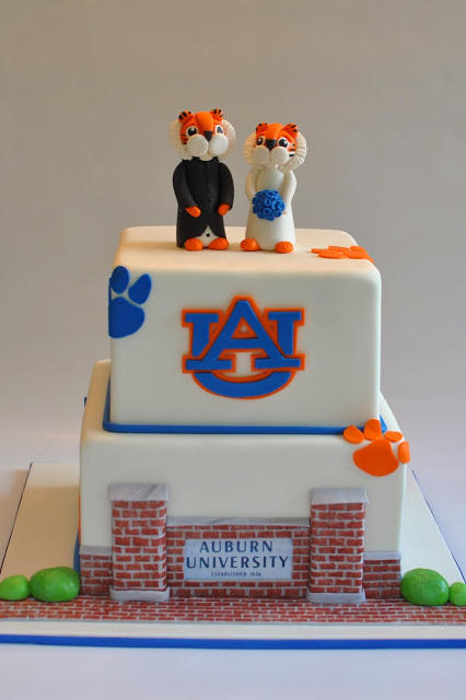 Over the top grooms cakes for true sec fans southern living auburn university grooms cake junglespirit Choice Image