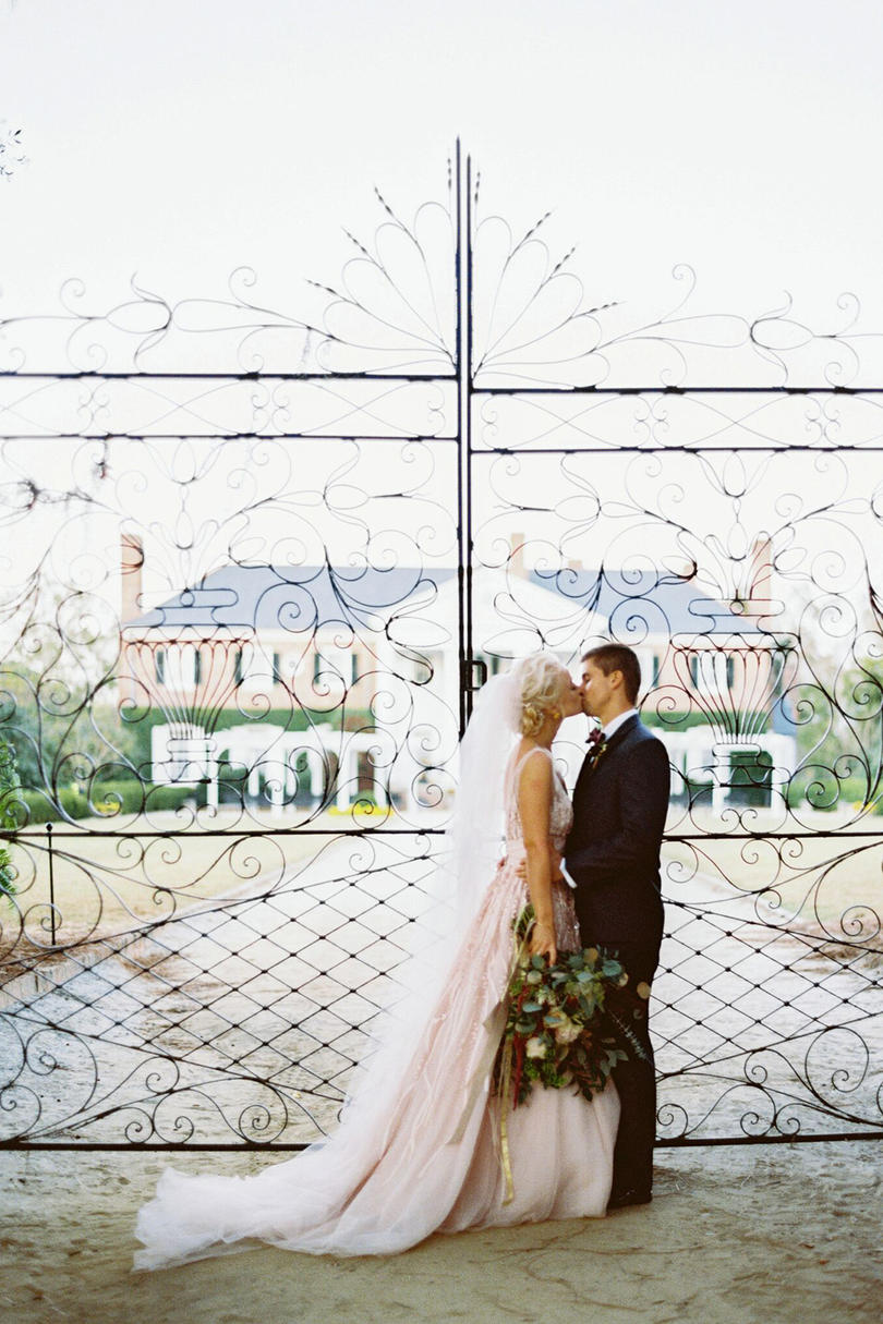 Wedding at Boone Hall Plantation