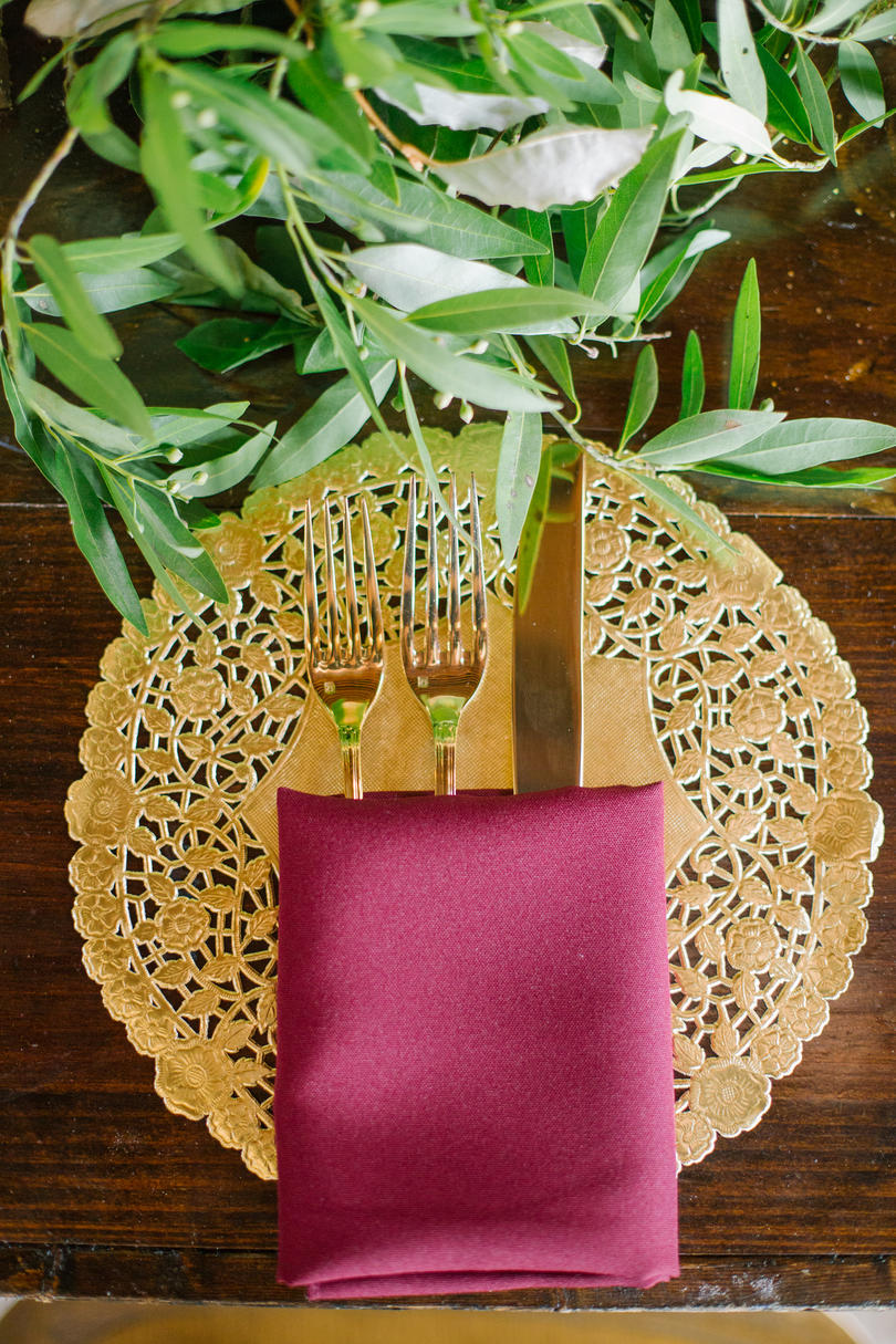 Fanciful Fall Place Setting