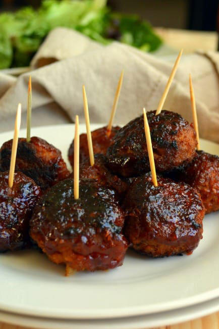 10 delicious turkey meatball recipes southern living bbq turkey meatballs forumfinder Choice Image