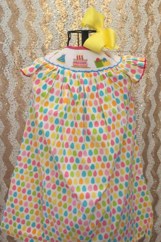 Smocked Birthday Dress