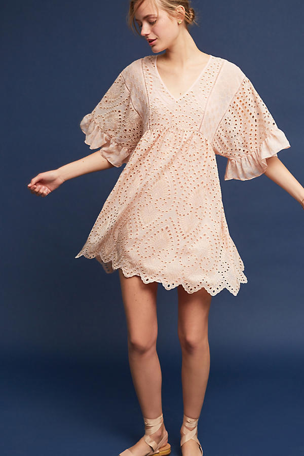Brooke Eyelet Dress