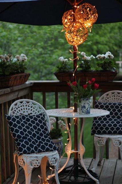 12 ways to use your christmas lights in the summer porch party lighting