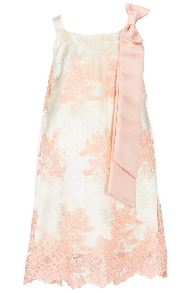 Most Adorable Flower Girl Dresses Dillard's Blush Lace with Bow