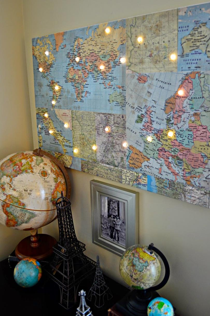 12 Ways to Use Your Christmas Lights in the Summer DIY Map Destination Planner