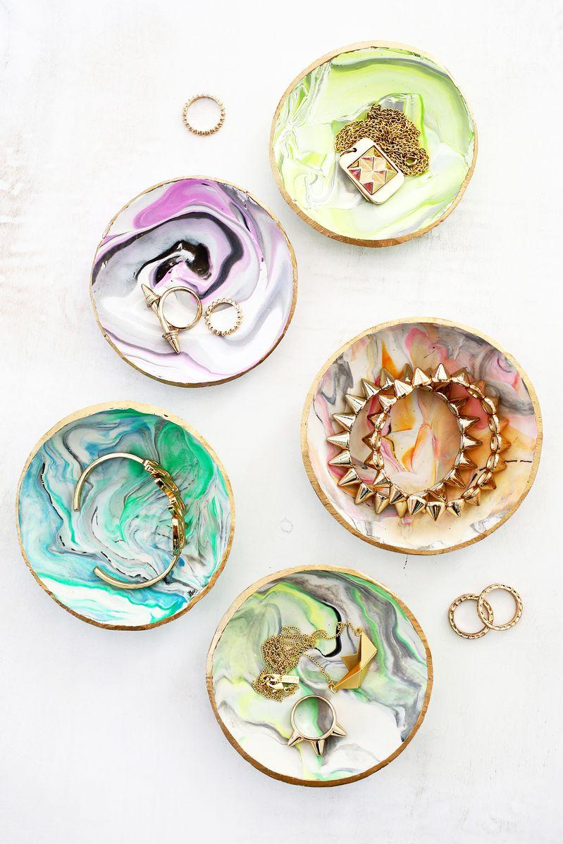 Marbled Clay Ring Dish