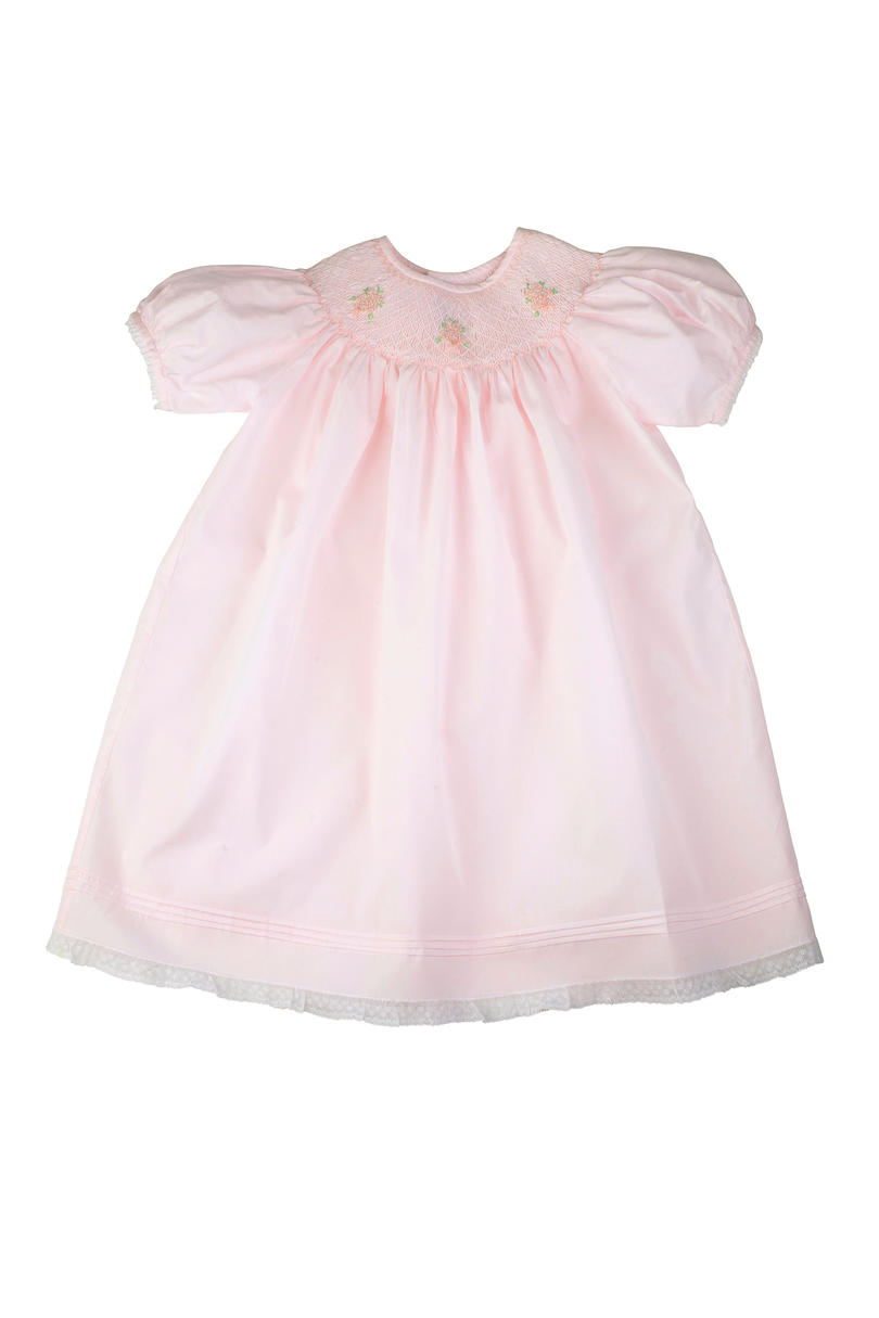 Feltman Brothers Rose Bouquet Smocked Dress