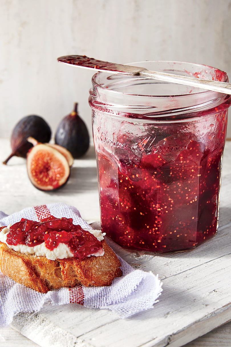Fig and Lemon Refrigerator Jam