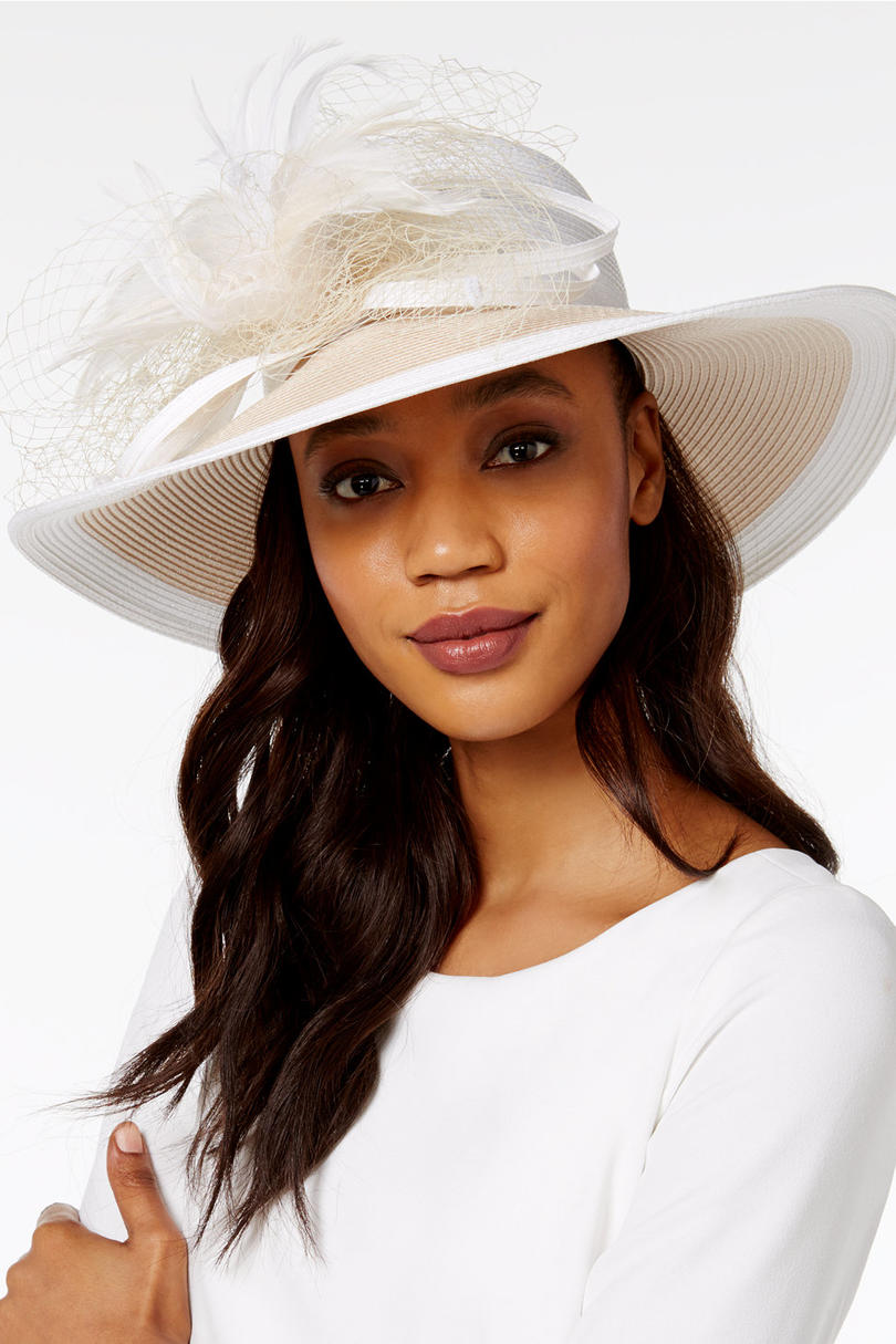 Freesia Wide Brim Hat