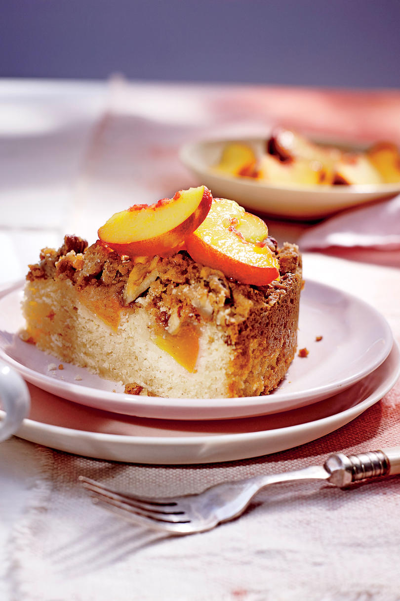 RX_1707_Stephen Rose Peaches_Fresh Peach Coffee Cake with Pecan Streusel