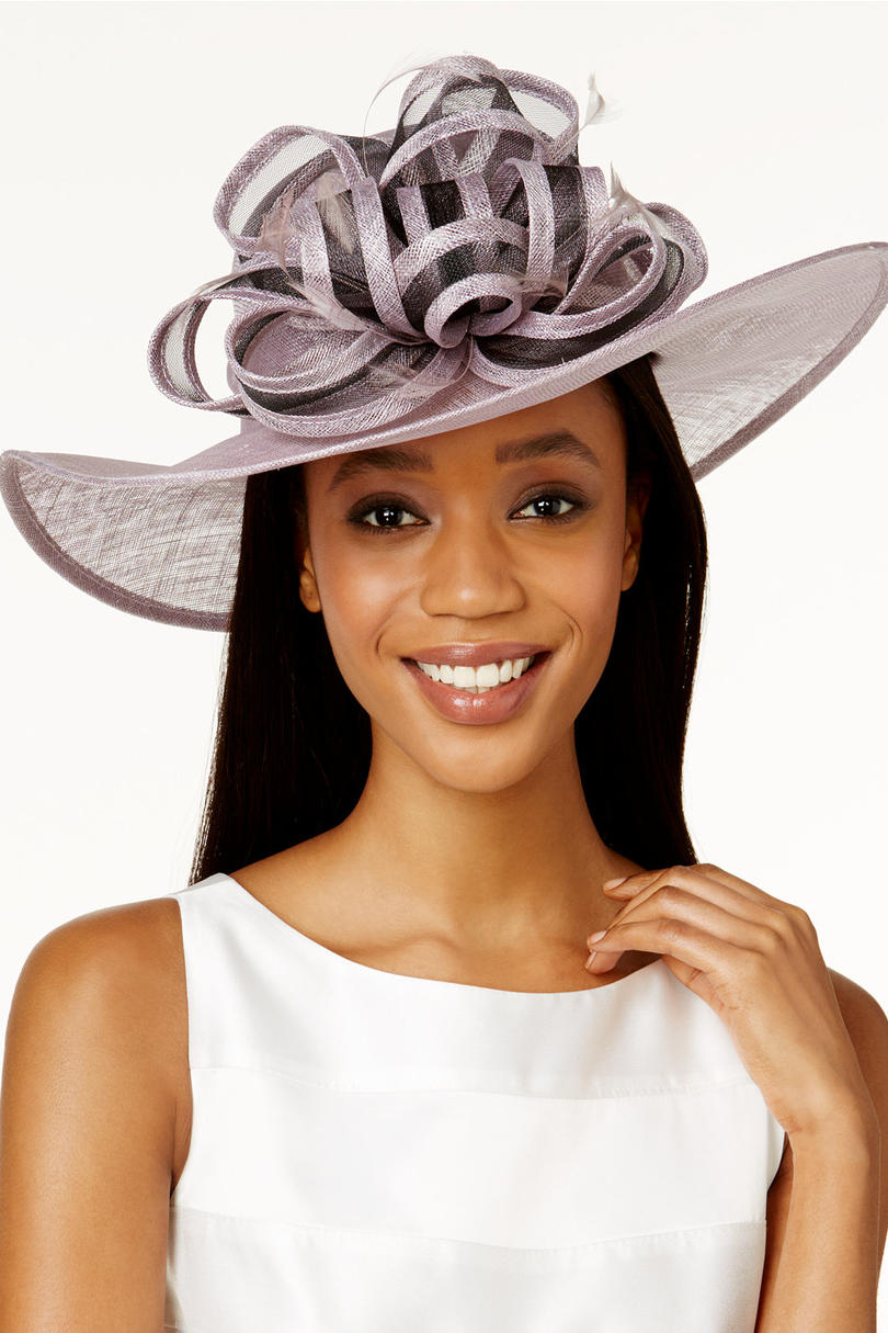 Gardenia Wide Brim Hat