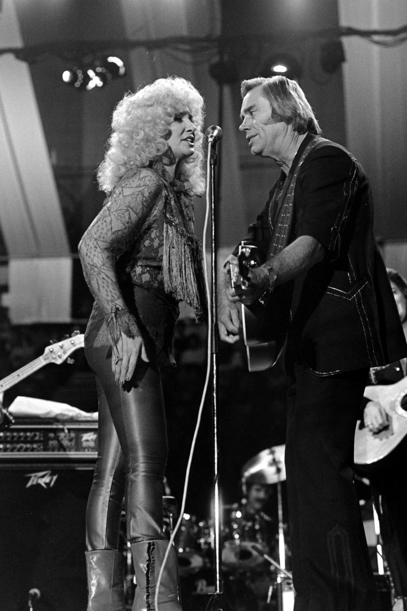"""Golden Ring"" George Jones and Tammy Wynette, 1976"