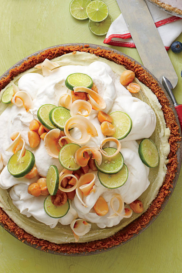Summer Cakes and Pies Key Lime Ice-Cream Pie