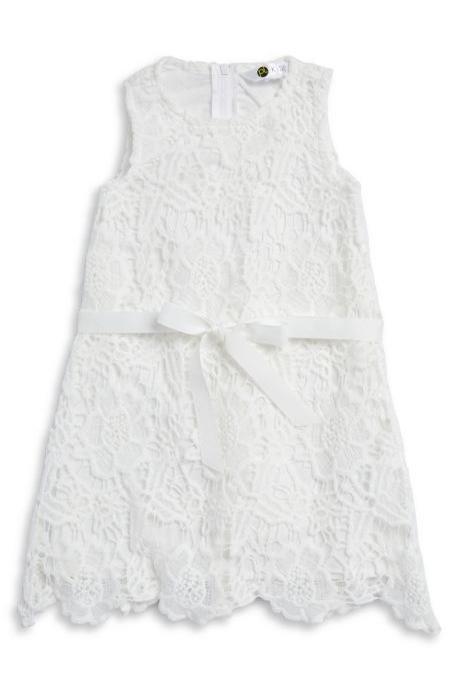 Most Adorable Flower Girl Dresses Lord & Taylor All Lace White Dress