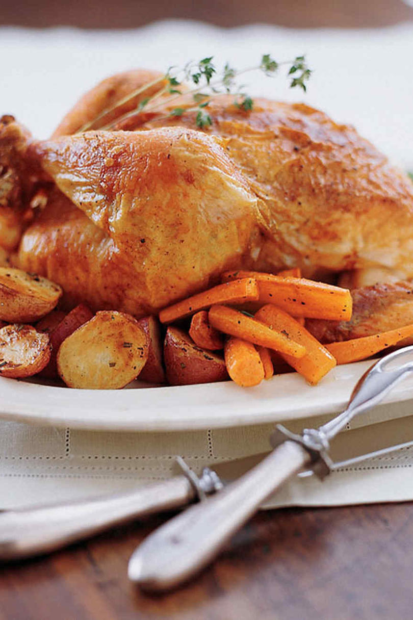 Martha's Perfect Roast Chicken