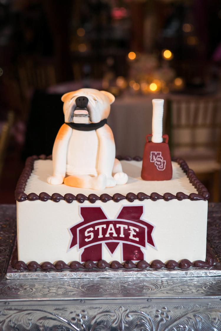 Groom's Cakes For SEC Fans