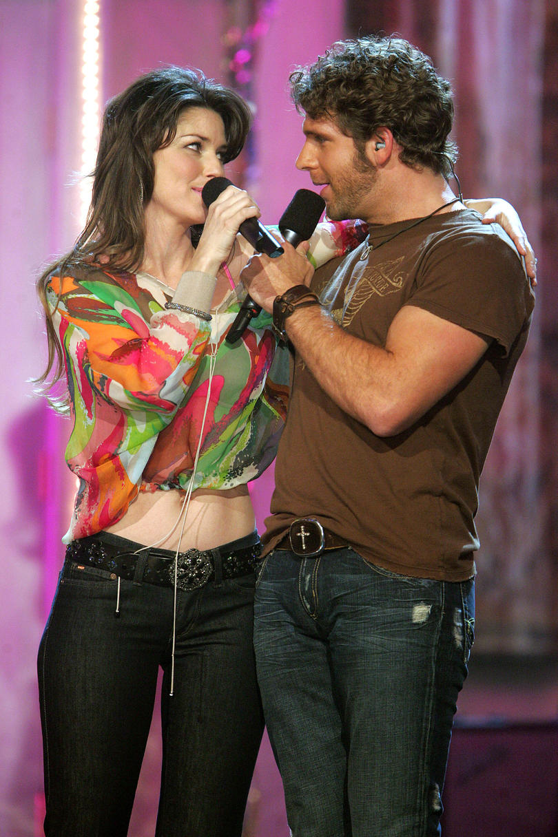 Unforgettable Country Music Duets Shania Twain and Billy Currington