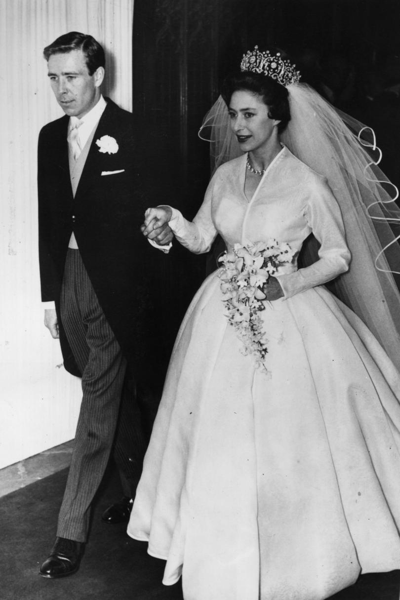 The most iconic wedding dresses of all time southern living princess margaret junglespirit Image collections