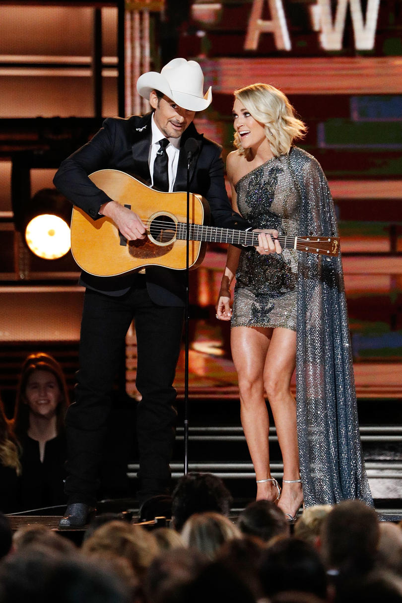 Unforgettable Country Music Duets Brad Paisley and Carrie Underwood