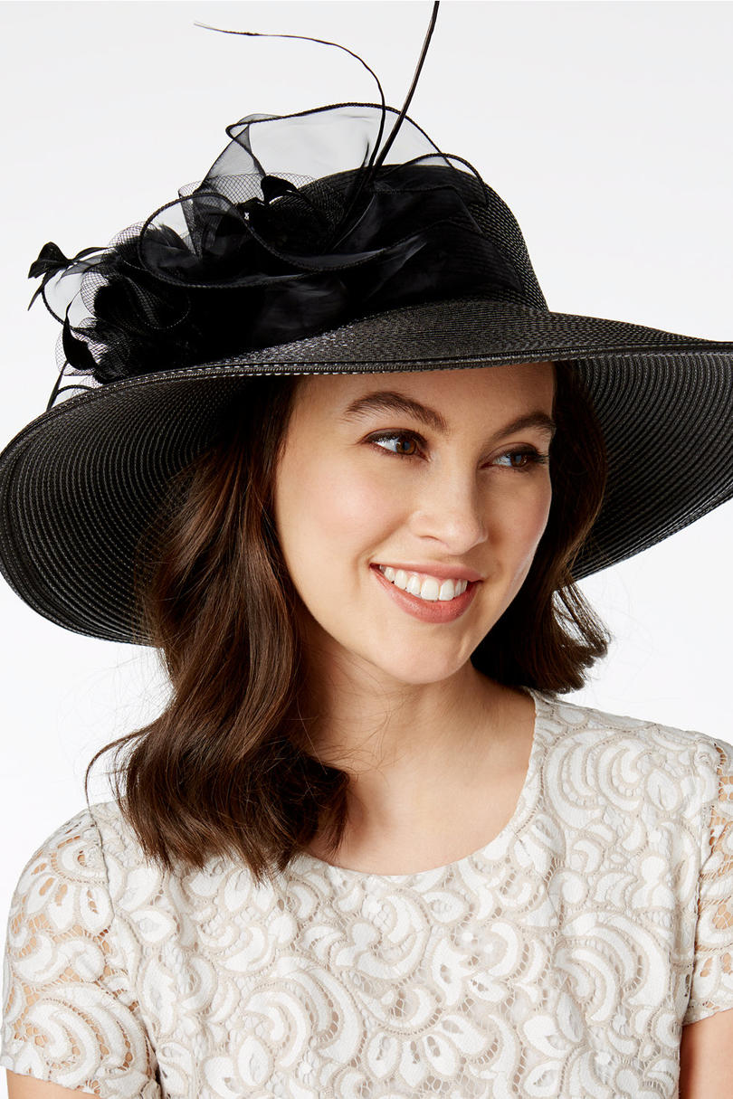 Iris Romantic Profile Hat