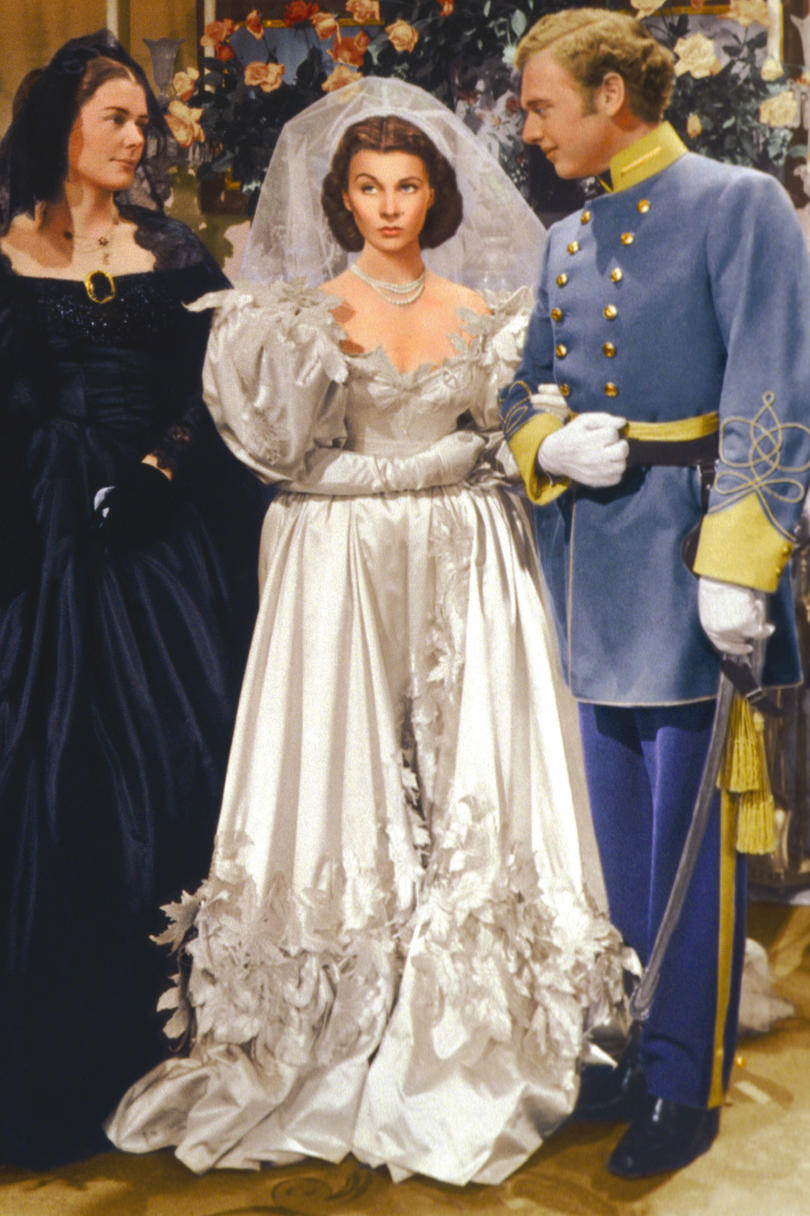 The most iconic wedding dresses of all time southern living scarlett ohara junglespirit Choice Image