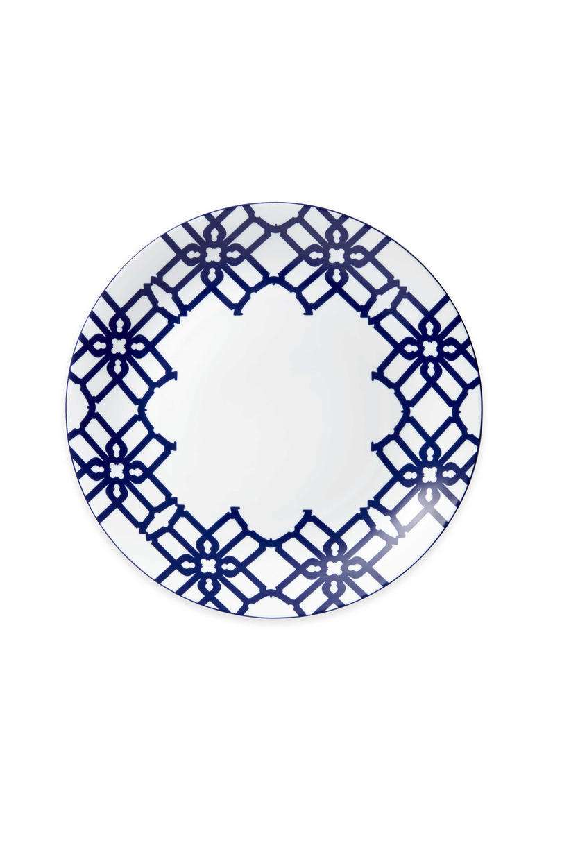 Truman Charger Plate in Navy