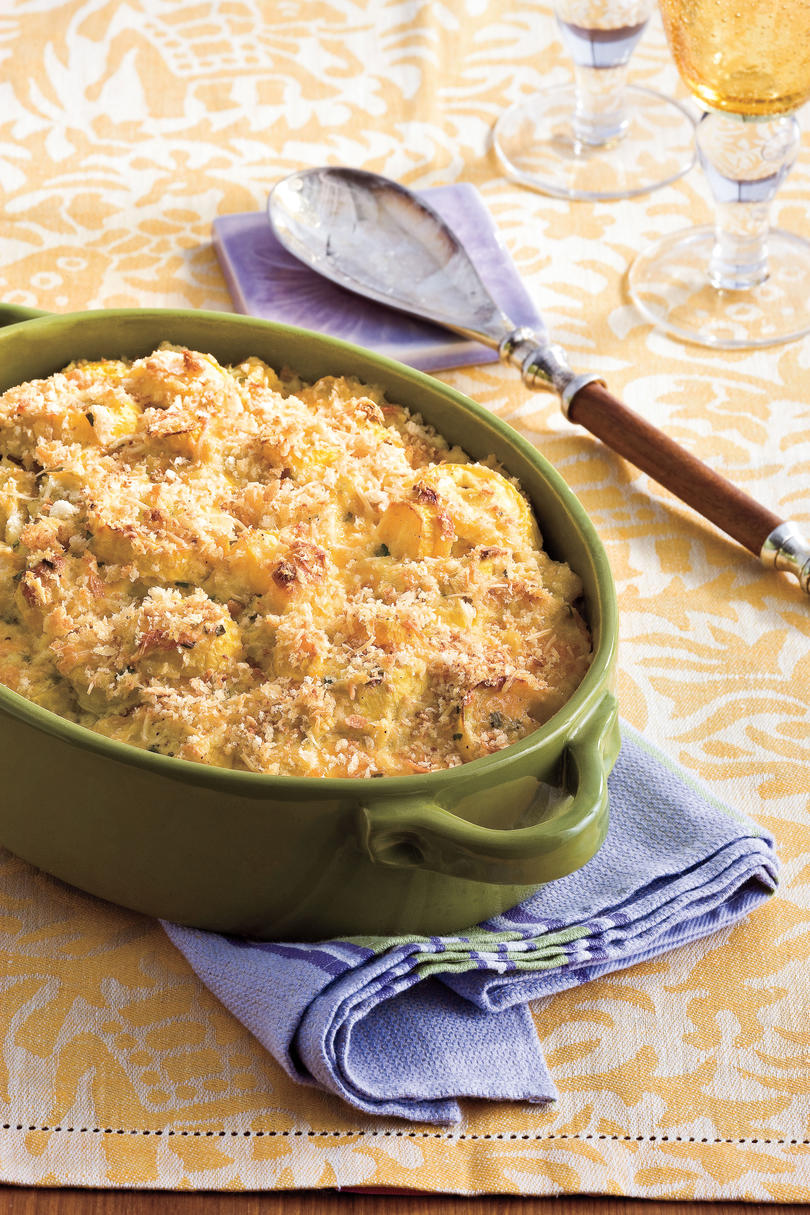Two-Cheese Squash Casserole