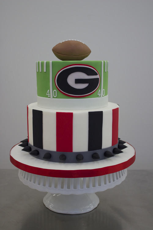 University of Georgia Football Grooms Cake