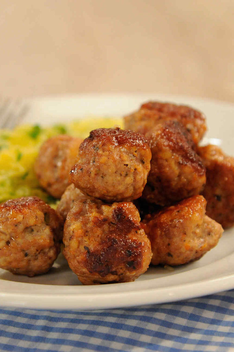 Veggie-Heavy Turkey Meatballs