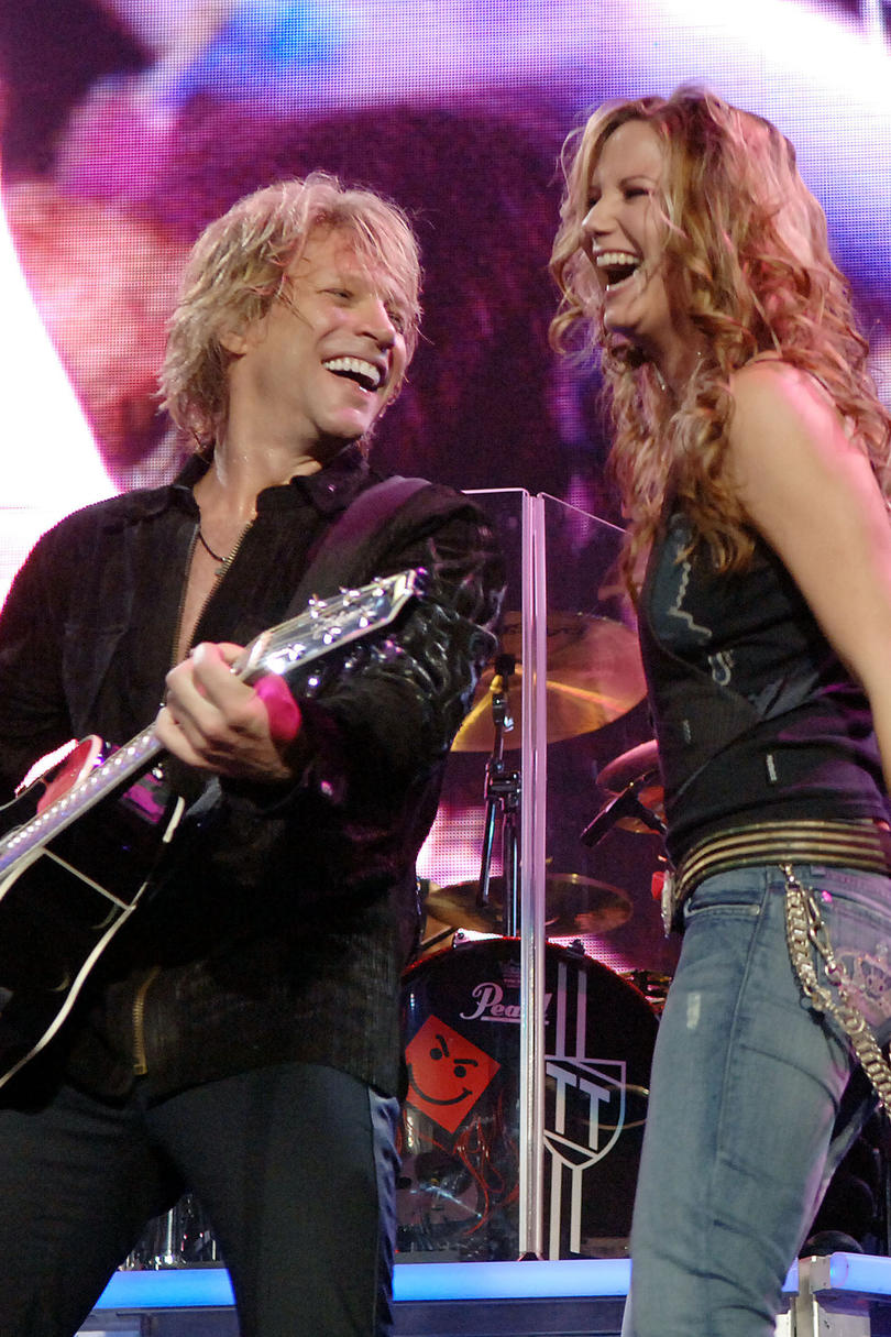 Unforgettable Country Music Duets John Bon Jovi And Jennifer Nettles