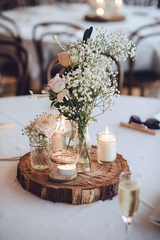 Table Top Décor: Simple and Sweet