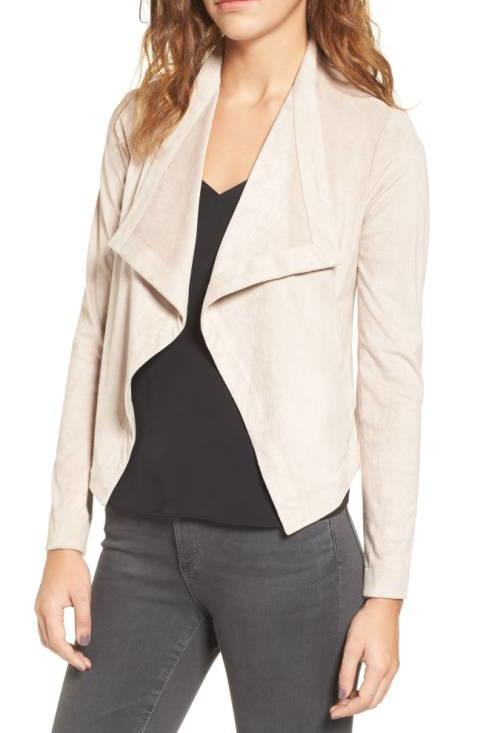 White Suede Jacket
