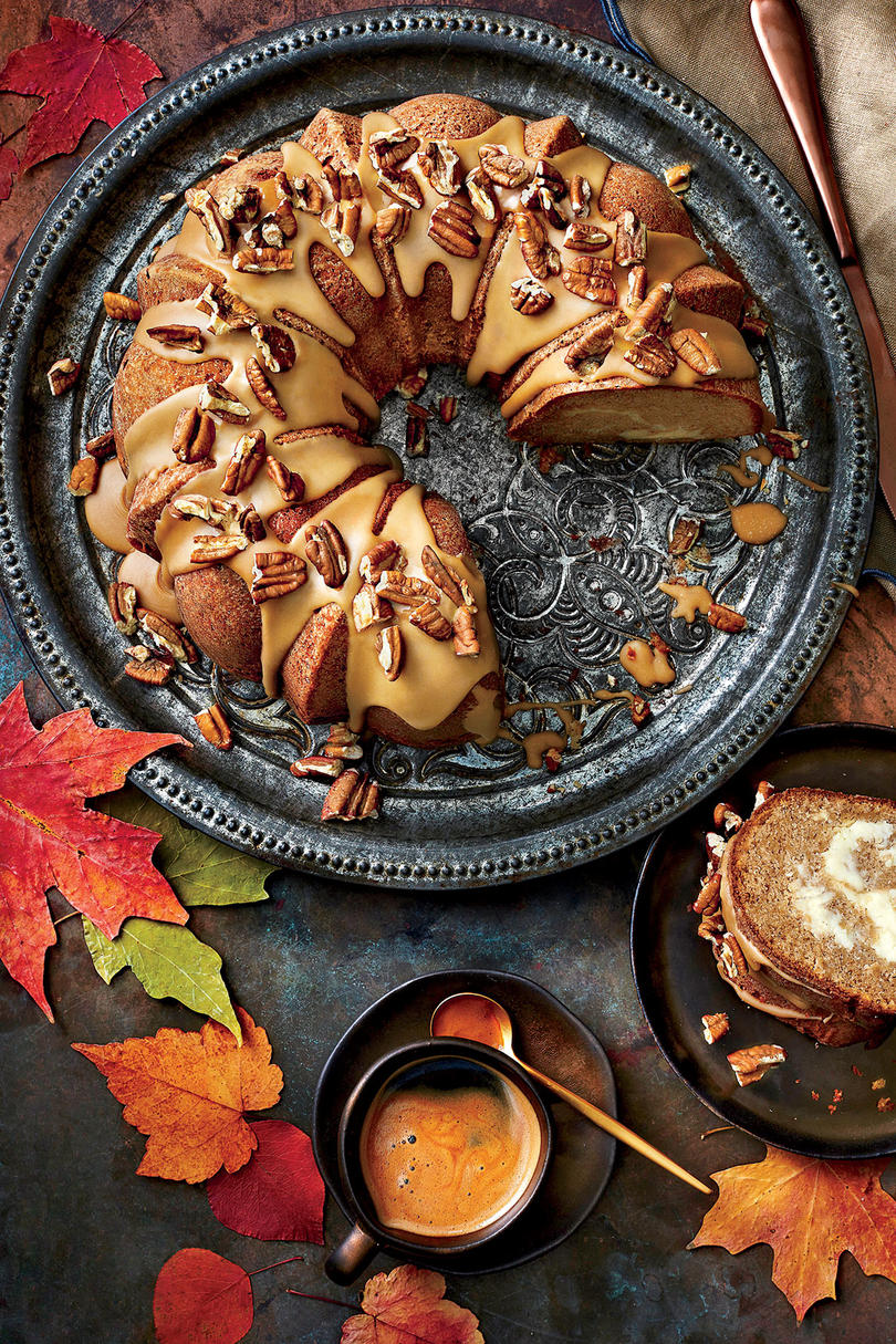 Apple Spice Bundt Cake With Caramel Frosting Southern Living