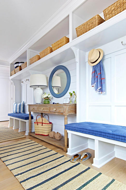 15 Mudroom Ideas We're Obsessed With Bring It To the Beach
