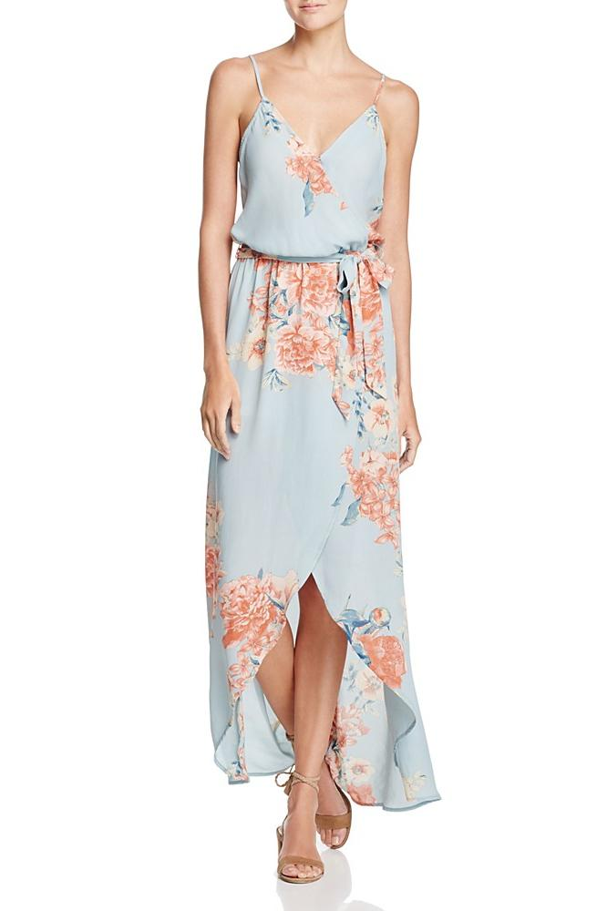 Bloomingdale's Maxi Wrap Dress