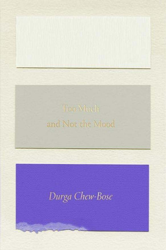 Too Much and Not the Mood: Essays by Durga Chew-Bose
