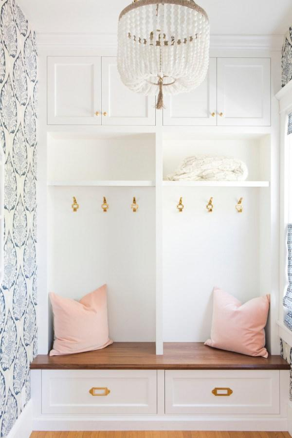 15 Mudroom Ideas We're Obsessed With Go Glam