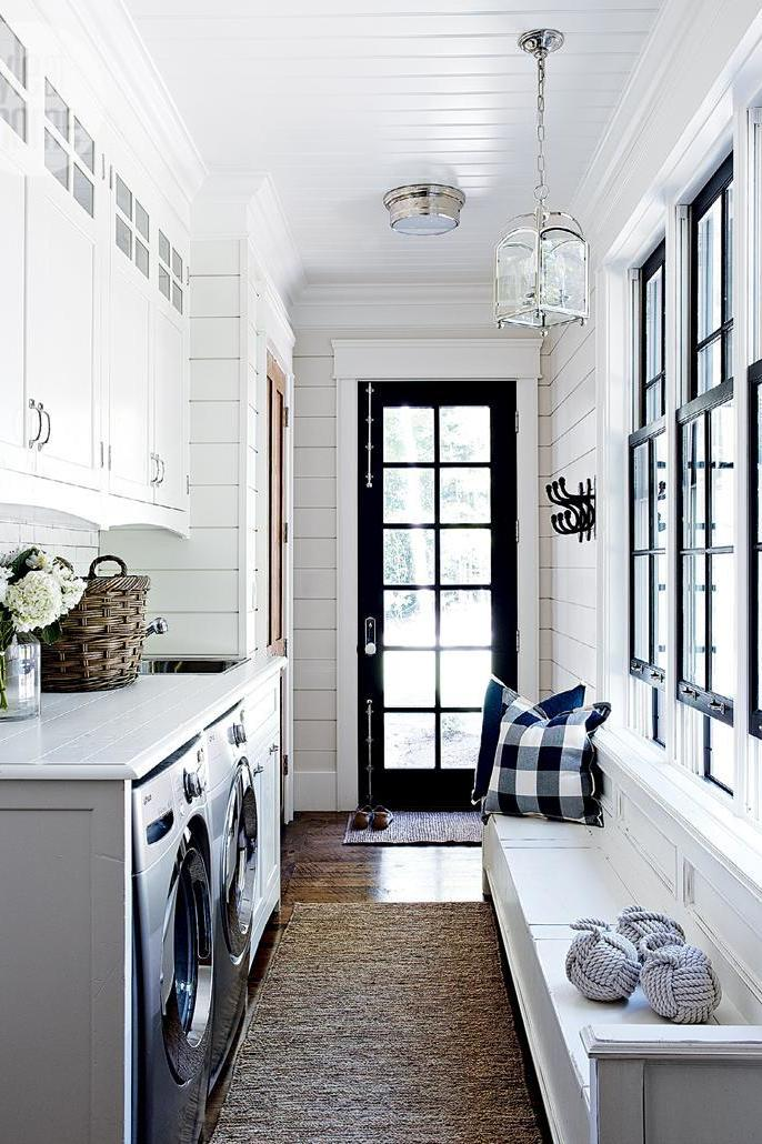 Combine It With Your Laundry Room 15 Mudroom Ideas